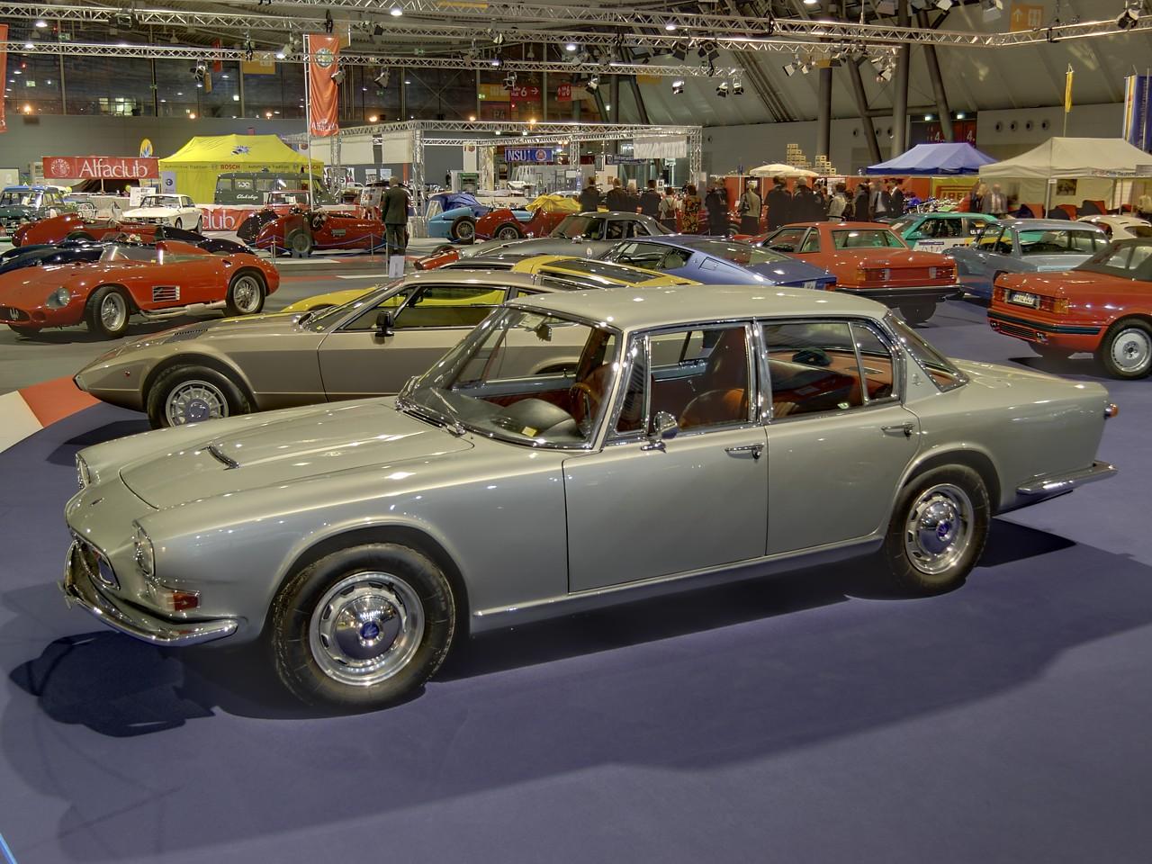 Maserati Quattroporte Serie I 1963 1966 7 Jpg